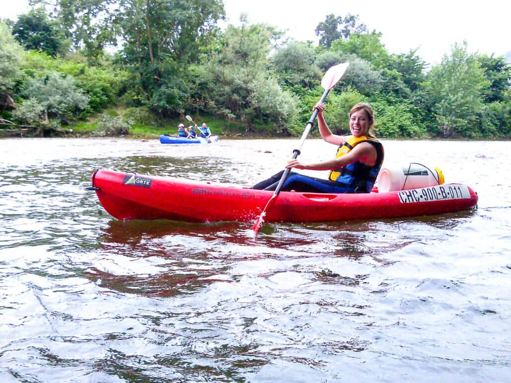 Canoe Sella river