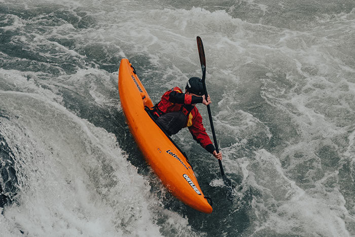 White water Kayaking in Spain